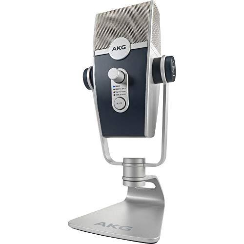 AKG Lyra Ultra HD Multi-Mode USB-Mikrofon– für Podcaster, Vlogger, Musiker und mehr