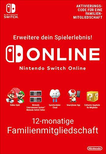 Nintendo Switch Online Mitgliedschaft - 12 Monate Familienmitgliedschaft  | Switch - Download Code