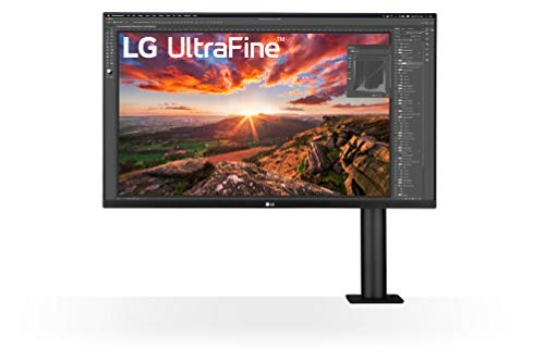 LG 32UN880-B 80,01 cm (31,5 Zoll) UltraFine Ergo 4K IPS Monitor (ergonomischer Standfuß, HDR10, Gaming Features, AMD Radeon FreeSync), schwarz