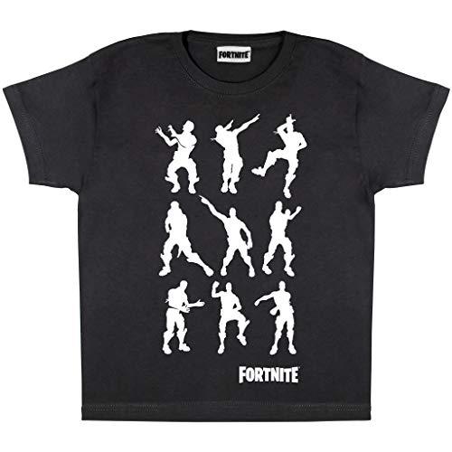 Fortnite Flossing Rex Jungen T-Shirt | Offizielles Merchandise | PS4 PS5 Xbox PC Gamer Geschenke Tween Teen School Boys Gaming Top Kinderkleidung Kindergeburtstag Geschenkidee