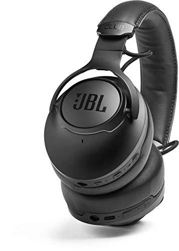 JBL CLUB ONE – Bluetooth Over-Ear-Kopfhörer mit Noise-Cancelling in Schwarz – Professioneller JBL Pro Sound – Perfekt für unterwegs