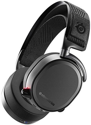 SteelSeries 61473 Arctis Pro Wireless – Kabelloses Gaming-Headset (2,4 GHz & Bluetooth) – Hochauflösende Lautsprechertreiber – Für PC,PS5 und PS4 – Schwarz