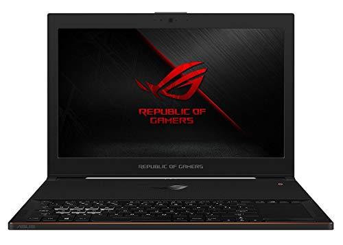 Asus ROG Zephyrus GX501GI 39,62 cm (15,6 Zoll) Laptop (Intel Core i7-8750h, 512GB Festplatte, 16GB RAM, NVIDIA GeForce GTX1080, Win 10) schwarz (Generalüberholt)