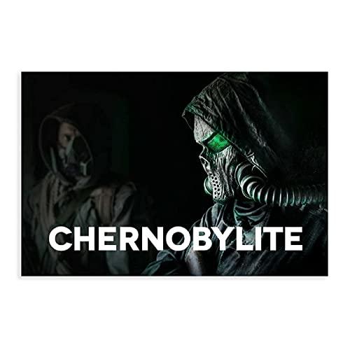 PThome05 Chernobylite Videospiel-Poster auf Leinwand, Wandkunst, Deko, Bild, Gemälde für Wohnzimmer, Schlafzimmer, Dekoration, 30,5 x 45,7 cm