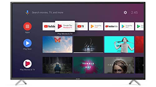 SHARP Android TV 55BL2EA, 139 cm (55 Zoll) Fernseher, 4K Ultra HD LED, Google Assistant, Amazon Video, Harman/Kardon Soundsystem, HDR10, HLG, Bluetooth