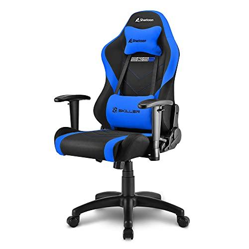 Sharkoon Skiller SGS2 Jr. Gaming Chair, Blau