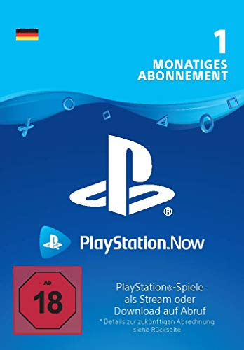 PlayStation Now - Abonnement 1 Monat (deutsches Konto) | PS4 Download Code - deutsches Konto
