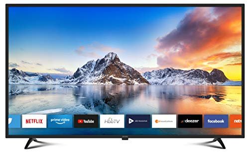 DYON Smart 42 XT 105,4 cm (42 Zoll) Fernseher (Full-HD Smart TV, HD Triple Tuner (DVB-C/-S2/-T2), Prime Video, Netflix & HbbTV) [Modelljahr 2021]