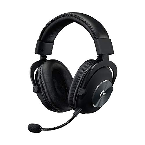 Logitech G PRO X Gaming-Headset (2. Generation) mit Blue VOICE, DTS Headphone:X 7.1, PRO-G 50 mm Lautsprechern, 7.1 Surround Sound für Esport Gaming, für PC/Mac/Xbox One/PS4/Nintendo Switch, Schwarz