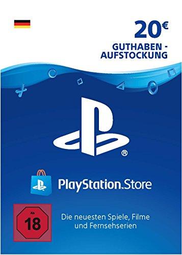 PSN Guthaben-Aufstockung | 20 EUR | deutsches Konto | PS5/PS4/PS3 Download Code