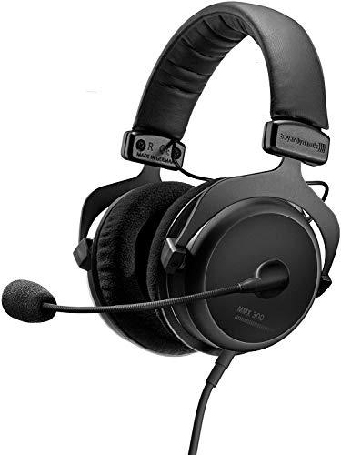 beyerdynamic MMX 300 Premium geschlossener Over-Ear Gaming-Headset (2nd Generation) mit Mikrofon, geeigneter Kopfhörer für PS4 Konsole, XBOX One, PC, Notebook