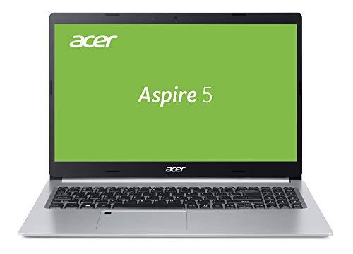 Acer Aspire 5 (A515-55-51NJ) 39,62 cm (15,6 Zoll Full-HD IPS matt) Multimedia Laptop (Intel Core i5-1035G1, 8 GB RAM, 512 GB PCIe SSD, Intel UHD, Win 10 Home) silber