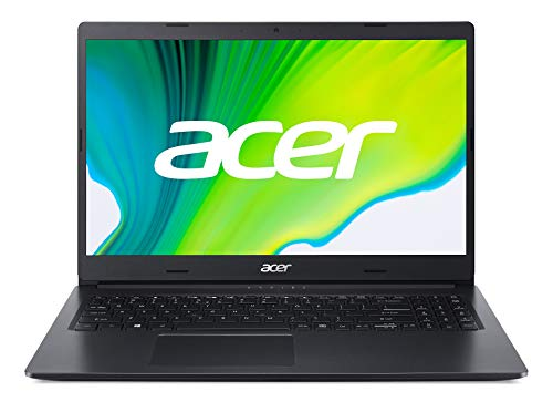 Acer Aspire 3 (A315-23-R706) 39,62 cm (15,6 Zoll Full-HD matt) Multimedia Laptop (AMD Ryzen 5 3500U, 8 GB RAM, 512 GB PCIe SSD, Radeon Vega 8 Graphics, Win 10 Home) schwarz