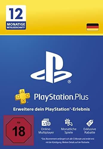 PlayStation Plus Mitgliedschaft | 12 Monate | deutsches Konto | PS5/PS4 Download Code