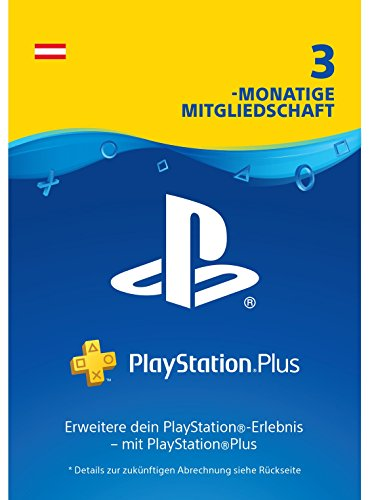 PlayStation Plus Mitgliedschaft | 3 Monate | österreichisches Konto | PS4 Download Code
