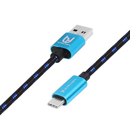 USB-C 3.1 GEN1 auf USB 3.0 Kabel by Ultra HDTV 1m, blitzschneller SuperSpeedTransfer mit bis zu 10Gbps, perfekt für Ihr USB-C Gerät (1 Meter)