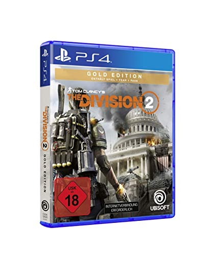 Tom Clancy's The Division 2 - Gold Edition | Uncut - [PlayStation 4 - Disk]