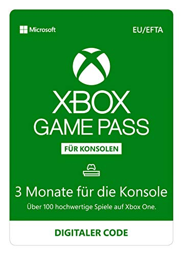 Xbox Game Pass | 3 Monate Mitgliedschaft | Xbox One – Download Code