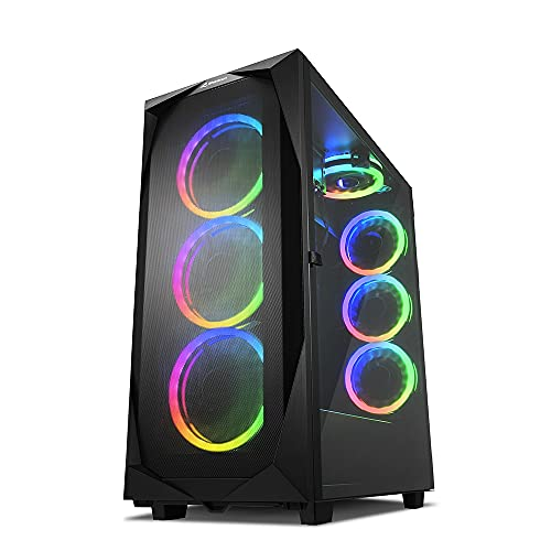 Sharkoon REV300 RGB, PC-Gehäuse, 4044951032129