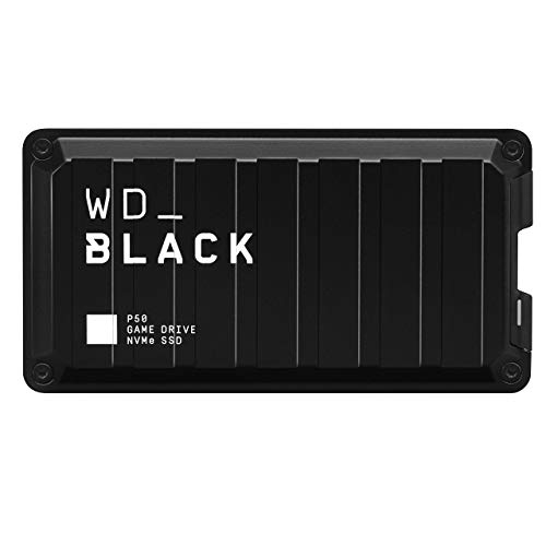 WD_BLACK P50 500GB Game Drive SSD, mobiler Speicher für maximale Gaming-Leistung