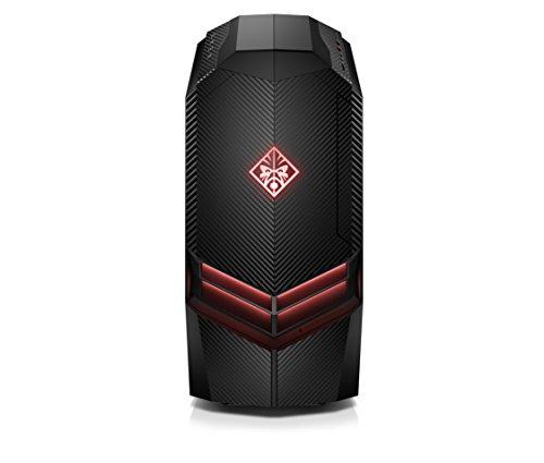 OMEN 880-504ng Gaming Desktop PC (Intel Core i7-9700F, HyperX 16GB DDR4 RAM, 256GB SSD + 1TB HDD, Nvidia Geforce GTX 1660Ti 6GB, ohne Betriebssystem) schwarz