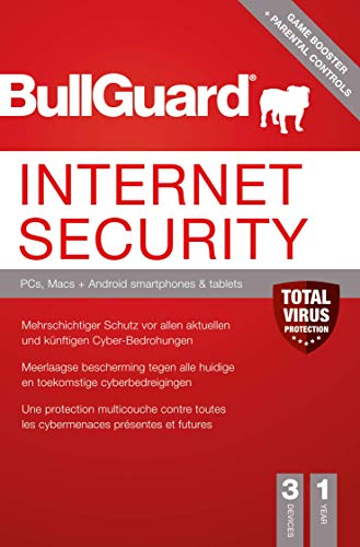 Bullguard Internet Security - 1 Jahr 3 Geräte PKC Version