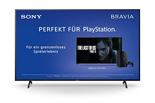 Sony KD-55XH8096 Bravia 139 cm (55 Zoll) Fernseher (Android TV, LED, 4K Ultra HD (UHD), High Dynamic Range (HDR), Smart TV, Sprachfernbedienung, 2020 Modell) Schwarz