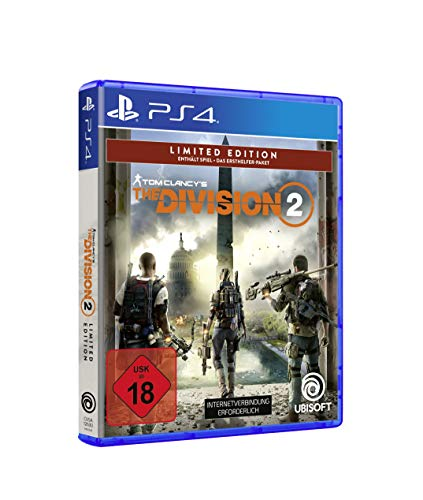 Tom Clancy's The Division 2 Limited Edition   Uncut - [PlayStation 4 - Disk]