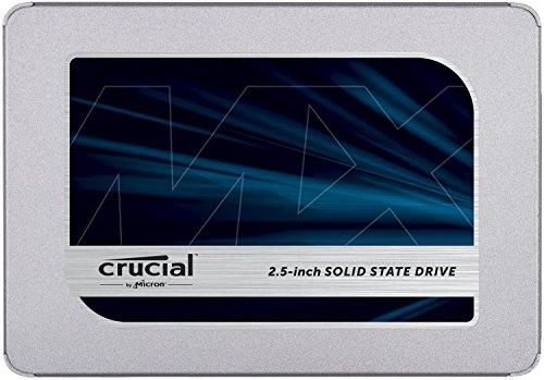 Crucial MX500 CT1000MX500SSD1 1TB (3D NAND, SATA, 2,5 Zoll, Internes SSD)