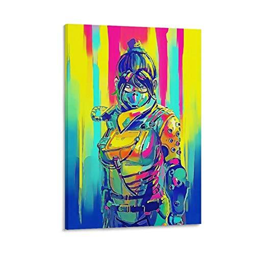 haocaitou Apex Legends Poster, dekoratives Gemälde, Leinwand, Wandkunst, Wohnzimmer, Poster, Schlafzimmer, Malerei, 20 x 30 cm