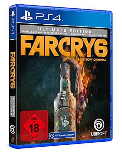 Far Cry 6 - Ultimate Edition (kostenloses Upgrade auf PS5) | Uncut - [PlayStation 4]