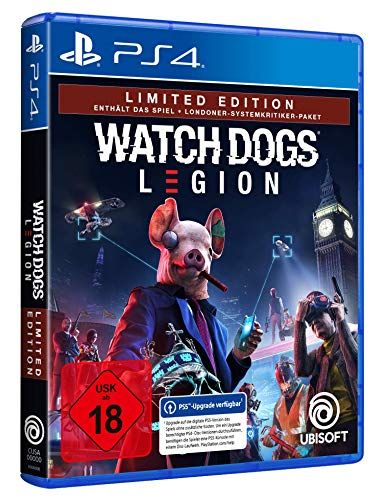 Watch Dogs Legion Limited Edition - exklusiv bei Amazon | Uncut - [PlayStation 4]