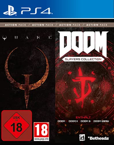 id Action Pack Vol. 1 (Quake + DOOM Slayers Collection) - [PlayStation 4]