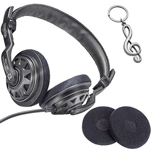 Ultrasone HFI-15G Kopfhörer + Ersatz Ohrpolster + keepdrum Violinschlüssel