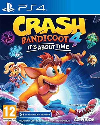 ACTIVISION NG Crash Bandicoot 4 It's About Time – PS4
