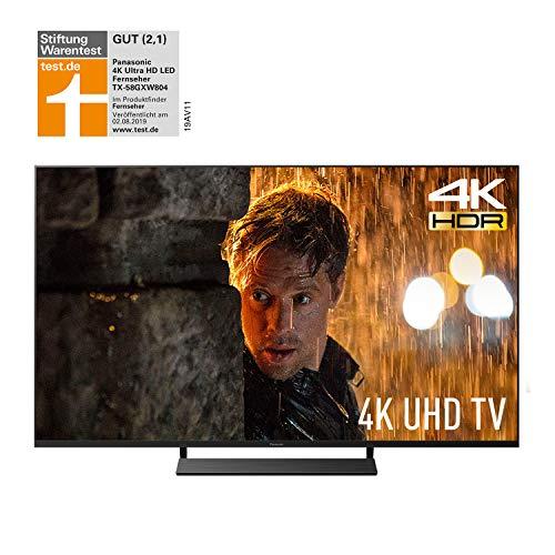 Panasonic TX-58GXW804 LED Fernseher 4K (Ultra HD, Smart TV 58 Zoll/146 cm, Alexa Sprachsteuerung, Quattro Tuner, HDMI)