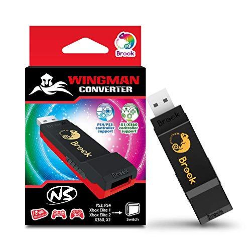 Wingman NS Converter für Nintendo Switch, Switch Lite & PC (für Playstation 3, 4, 5-Controller & Xbox360, Xbox One, Xbox Series X/S Controller)