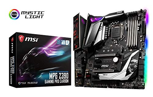MSI 7B17-012R MPG Z390 Gaming PRO Carbon Motherboard Schwarz