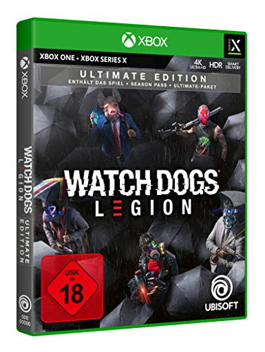 Watch Dogs Legion Ultimate Edition   Uncut - [Xbox One, Xbox Series X]