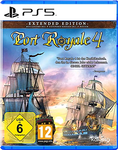 Port Royale 4 - Extended Edition (PlayStation 5)