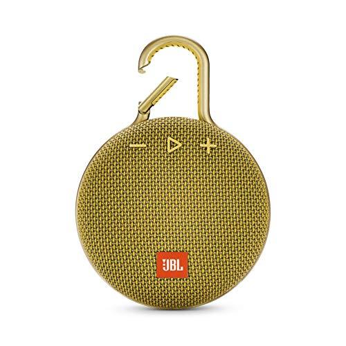JBL Clip 3 Mono Tragbare Lautsprecher, 3,3W, Gelb