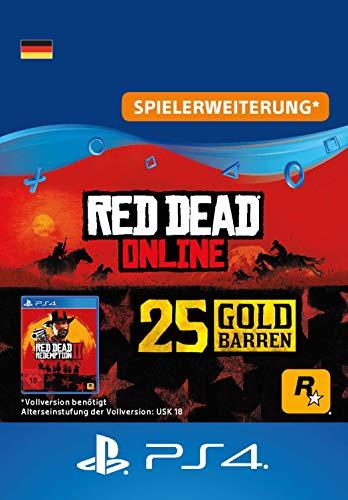 Rockstar Games Red Dead Redemption 2: 25 Goldbarren (DLC) - PS4 Download Code