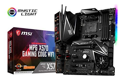 MSI MPG X570 Gaming Edge WiFi AMD AM4 DDR4 m.2 USB 3.2 Gen 2 HDMI ATX Gaming Motherboard