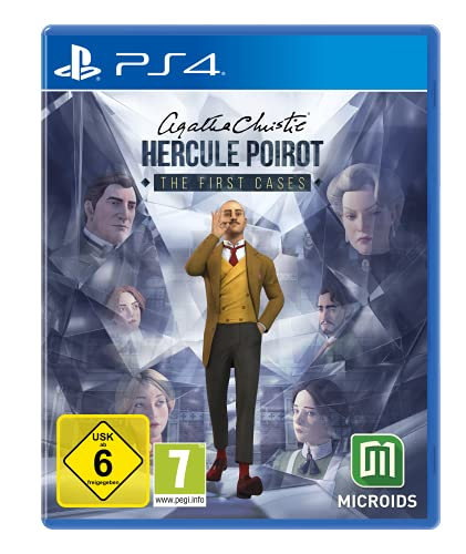 Agatha Christie: - Hercule Poirot: The First Cases - [Playstation 4] - Standard Edition