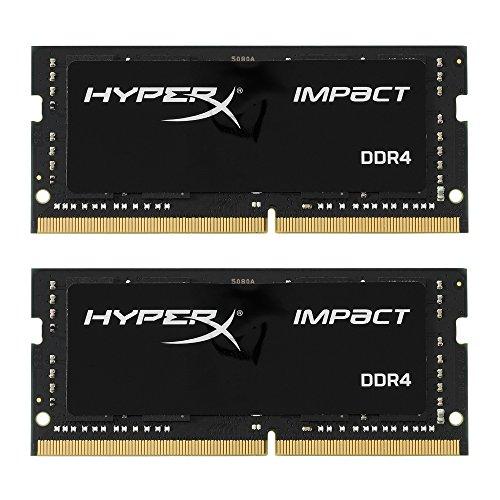 HyperX Impact DDR4 HX424S14IBK2/32 Arbeitsspeicher 2400MHz CL14 SODIMM 32GB Kit (2x16GB)