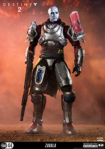 McFarlane Toys 13043-0 Destiny 2 Actionfigur Zavala, unisex-adult