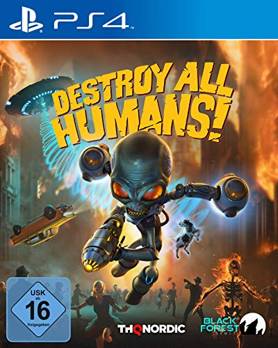 Destroy All Humans! Standard Edition [Playstation 4]