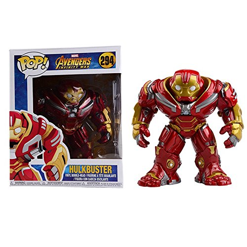 Funko 26898 Pop Marvel: Avengers Infinity War - Hulkbuster 6' Sammelfigur