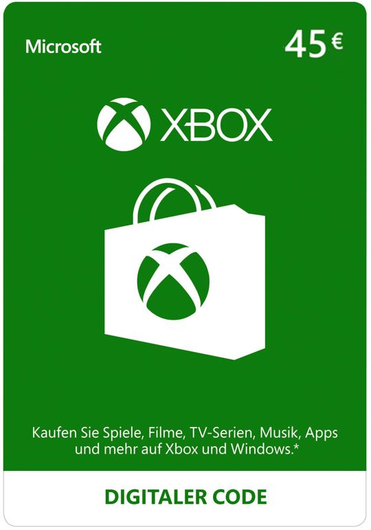 Xbox Live - 45 EUR Guthaben [Xbox Live Online Code]