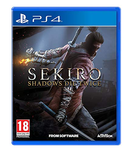 Sekiro Shadows Die Twice - uncut - PEGI 18 (Playstation 4 / PS4)